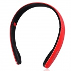 Suicen AX-671 Bluetooth V4.0 + EDR Stereo Headphone w/ Wired / Wireless 2-Mode / Microphone - Red
