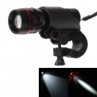 150lm 1-LED White Light 3-Mode Flashlight w/ Bicycle Mount Holder Clip Clamp (3 x AAA Battery)