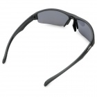 KALLO 99151 Outdoor Sports Grey Lens UV400 Polarized Sunglasses - Black