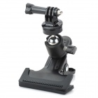 HGYBEST Clamp Mount Adapter for GoPro HD Hero3+ / 3 / 2 / Cameras / Flashlight / SJ4000 - Black
