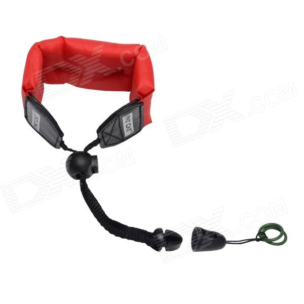Fat Cat Wrist Strap Floaty Foam Dive Strap / FKM Screw Ring for Gopro Hero 4/ 3+/3/2/1/SJ4000 wrist band mount strap for gopro hero3 sj4000 camera