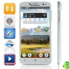 Lenovo A850 MTK6582 Quad-Core Android 4.2.2 WCDMA Bar Phone w/ 5.5' IPS, Wi-Fi, GPS - White