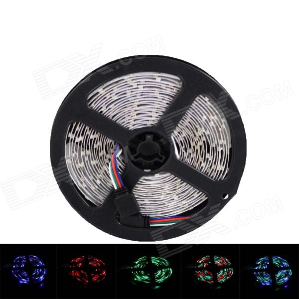 72W 6000mcd 300 x SMD 5050 LED RGB Car Decoration Light Strip - (12V / 5m)