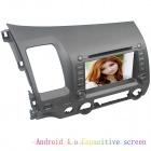 "LsqSTAR 7"" Pure Android Capacitive screen Car DVD Player w/ GPS,RDS,BT,TV,SWC,AUX-IN for Civic(left)"