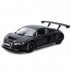 AK AK56087 Audi R8 1:14 R/C Racing Car Toy - Black