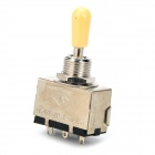TZ20 3-way Zinc Alloy Toggle Switch Metal Tip for E-guitar - Silver