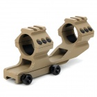 Integrated Gun Guide Rail Mount for M4 - Khaki