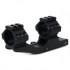 Integrado Gun Guia Rail Mount para M4 - Preto