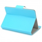 "Universal Protective PU Leather Case for 7"" Tablet PC - Blue"