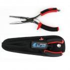 18cm Multifunction Stainless Steel Fishing Lure Pliers - Black + Red + Silver ( L Size)