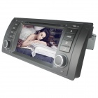 "LsqSTAR 6.2 ""Android 4.0 Auto-DVD-Spieler w / GPS, RDS, WLAN, PIP, SWC, Radio, AUX, 3DUI, CanBus für BMW E39/X5"