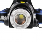 SiPiDS F40 LED 680lm 3-Mode White Zooming Focus Headlight (2*18650)