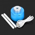 Portable USB Powered Water Bottle Mounted Air Humidifier - Blue