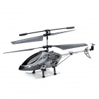 YD-118 Rechargeable 3.5-CH Gyro R/C Helicopter w/ Controller - Black + Grey