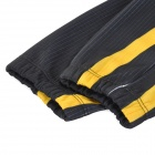 Santic MC01035 Bicycle Cycling Fleeces Long Sleeves Jersey - Black + Yellow (L)
