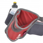 Hasky Sports Nylon Oxford Fabric Waistband Bag - Red + Grey