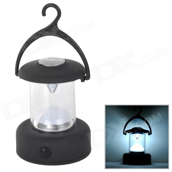 LSON YT-811 1W 5lm LED White Light Camping Lamp / Lantern 1pcs 3000lm t6 led flashlight bright hunting tactical light rechargeable torch lantern for camping with ac car charger hot