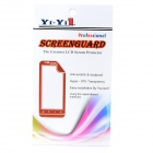 Matte Protective PET Screen Protectors w/ Cleaning Cloth for HTC One Max / T6 - Transparent (5 PCS)