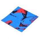 LL-1215 Multifuncional Outdoor Sports Seamless Head Scarf - Azul