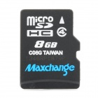 Maxchange Micro SD / TF Memory Card - Plastic (8GB / Class 4)