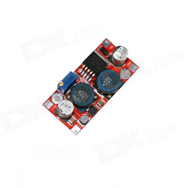 Produino Solar Power Panel DC 3~35V to DC 1.2~30V Automatic Buck-Boost Converter Module - Red + Blue dc dc automatic step up down boost buck converter module 5 32v to 1 25 20v 5a continuous adjustable output voltage