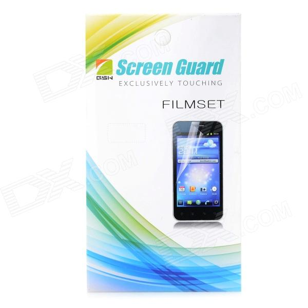Matte Protective PET Screen Protector w/ Cleaning Cloth for HTC Desire 300 - Transparent protective matte frosted screen protector film guard for nokia lumia 900 transparent