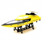 WLtoys WL912 AC Rechargeable 3-CH R/C Speedboat w/ Radio Remote Controller - Yellow