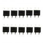 Jtron MB6S SMD Bridge Pile / Rectifier Bridge - Black (600V / 0.5A / 10 PCS)