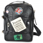 Multifunctional PU Backpack for 14'' Tablet PC - Black + Colorful