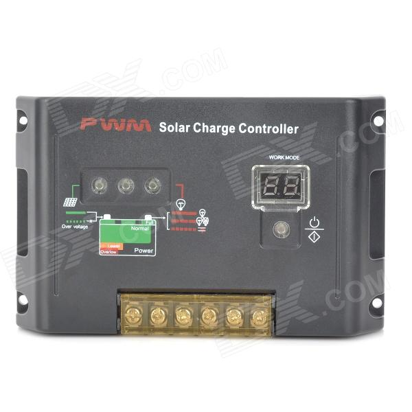 12V / 24V 30A Solar Power Intelligent Controller