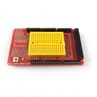OpenJumper Mega Extension Board w/ Mini Bread for Arduino - Red (Works with Official Arduino Boards)