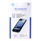 Clear Protective Tempered Glass Screen Protector w/ Cleaning Cloth for Samsung i9500 - Transparent
