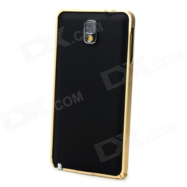 Protective Aluminum Alloy Bumper Frame for Samsung Galaxy Note 3 - Golden