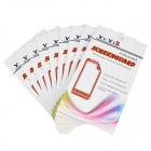 YI-YI  Dust-Proof Anti-Scratch ARM Clear Screen Guard Protectors for LG Nexus E960 (10 PCS)