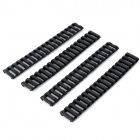 21mm LSON protector plástico Rail Protector - Negro (4 PCS)