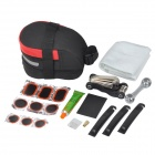 SAHOO 21038 Bike Repair Set - Black + Red