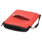 "Protective PU Leather Sleeve Bag for 7"" Tablet PC / Cellphone - Red"