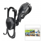 Universal Holder Mount w/ Suction Cups for Cellphone / Tablet PC - Black
