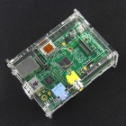 Raspberry Pi Model B Module Board (Made in UK) w/ Acrylic Case - Green