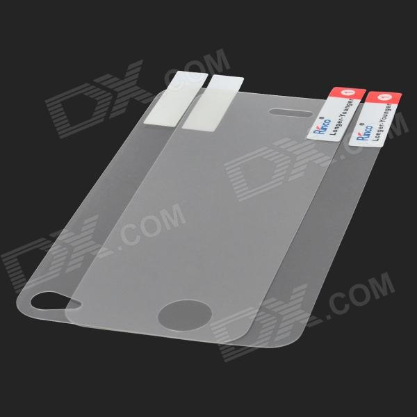 Rinco Protective Diamond Effect Screen Film Guard for Iphone 4 / 4S - Transparent