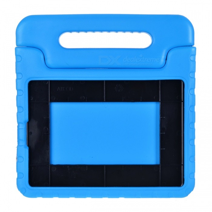 20504 Convenient Portable EVA Case W/ Holder for Ipad AIR - Blue