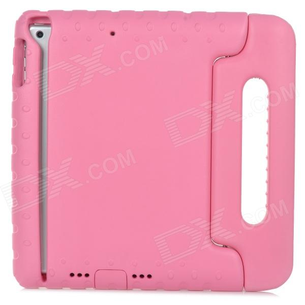 20506 Convenient Portable EVA Case W/ Holder for Ipad AIR - Pink - DXCases for Ipad<br>Protects your device from shock scratch and abrasion; the handle can be folded to form a stand.<br>
