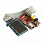 "Raspberry Pi B Project Board + TFT-LCD-Adapter + Datenkabel + 2,4 ""TFT-LCD-Touch-Sensor-Modul-Set"