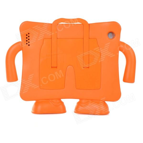 20055 Cute Robot Shaped Convenient EVA Case Stand Holder for Ipad 2 / 3 / 4 - Orange boxwave gumball i mate jaq3 stand colorful gumball shaped suction cup stand for the i mate jaq3 anti slip smartphone stand tangerine orange