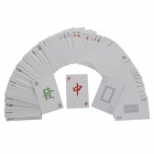 Happy Stupid Entertainment Mahjong Playing Poker Cards - (144-Piece)