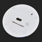 VMW-50 Football Shaped 2.4GHz USB 2.0 800 / 1200 / 1600 / 2400dpi Wireless Mouse - White + Blue