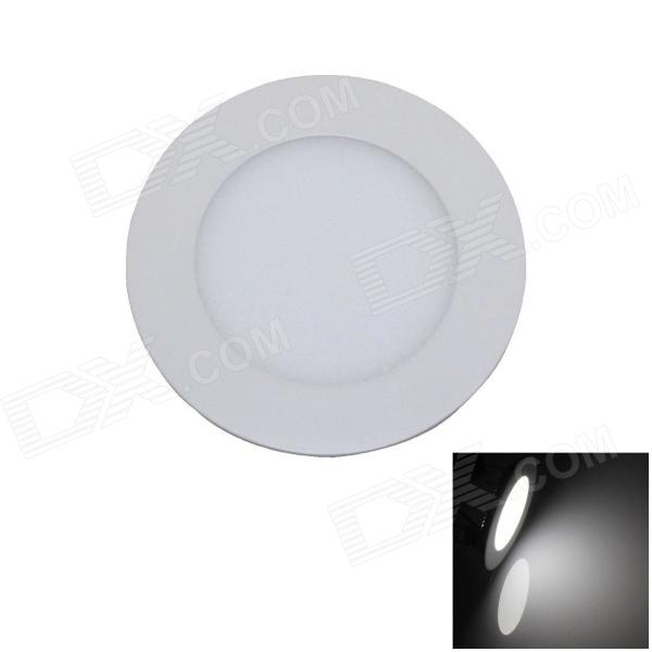 6W 400lm 6000K 30 x SMD 2835 LED White Light Ceiling Light w/ Driver - Ivory (AC 90~265V) 18w 3500k 1480lm 90 smd 2835 led warm white ceiling light w driver white ac 90 265v