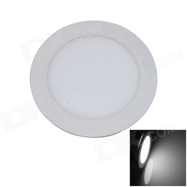 9W 600lm 6000K 45 x SMD 2835 LED White Light Ceiling Light w/ Driver - White (AC 90~265V) 18w 3500k 1480lm 90 smd 2835 led warm white ceiling light w driver white ac 90 265v