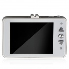 """HYT818 2.7"""" TFT LCD 8.0 MP CMOS 170 Degree Wide Angle WDR Car DVR - White + Silver"""