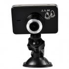 """HYT818 2.7"""" TFT LCD 8.0 MP CMOS 170 Degree Wide Angle WDR Car DVR - Black + Silver"""